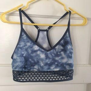 Victoria's Secret PINK Tie Dye Sports Bra Mesh M